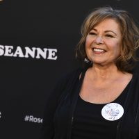 "Roseanne Barr arrives at the Los Angeles premiere of ""Roseanne"" on March 23 in Burbank, Calif. (Jordan Strauss/Invision/AP)"