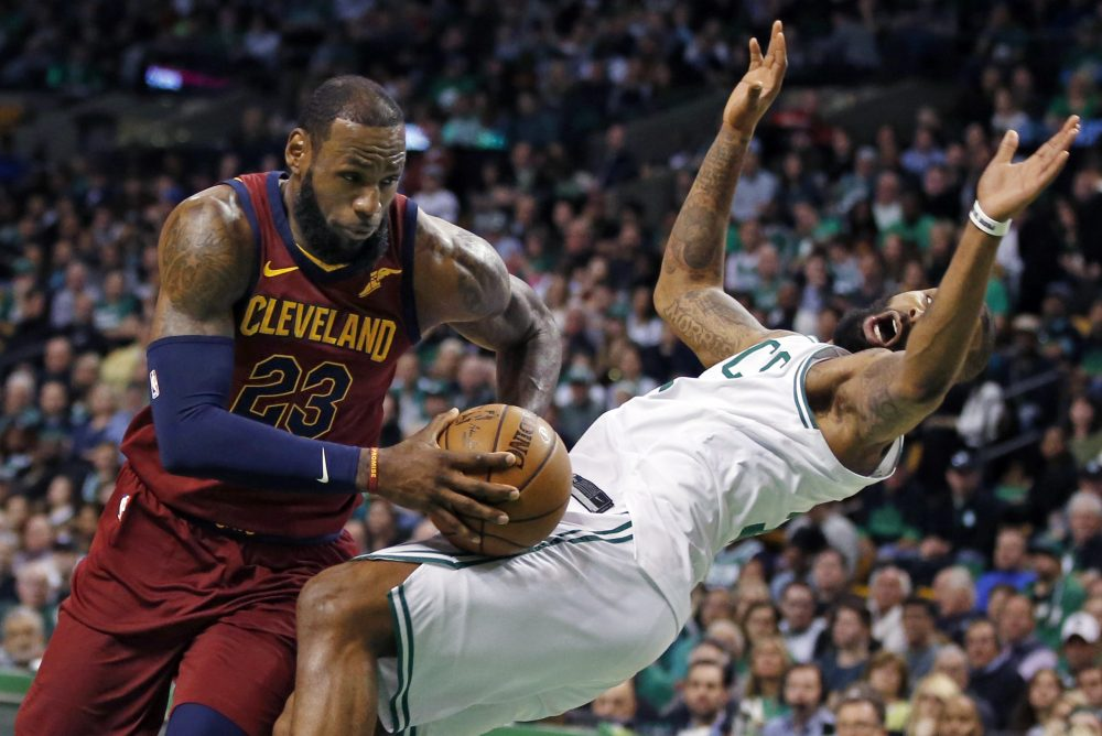huge discount 1d335 815a9 Celtics Take Game 1 Of East Finals, Beating Cavaliers 108-83 ...