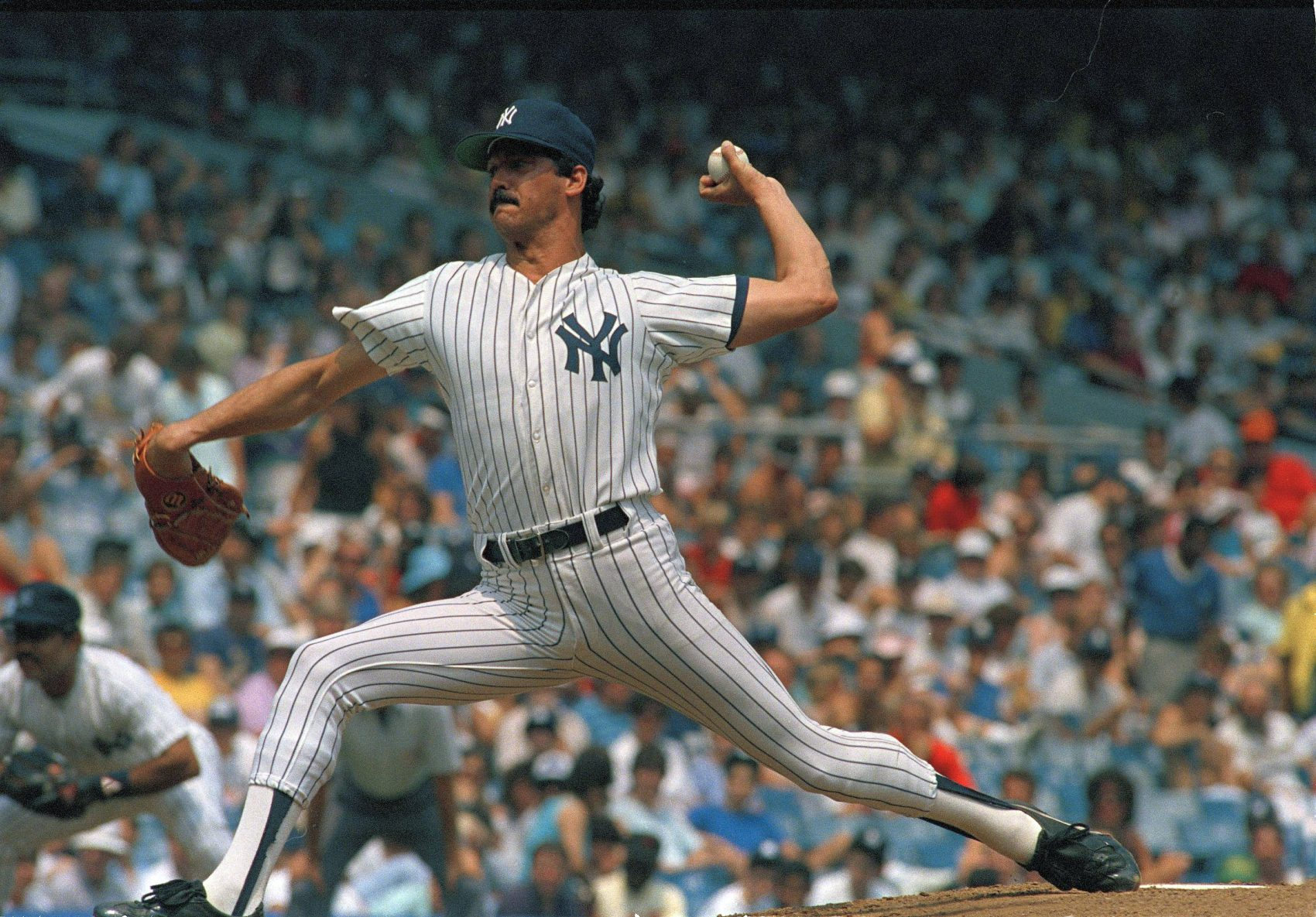 "What had Ron Guidry done for the Yankees before April 1977? ""Nothing. Not a thing,"" he says. That would soon change.  (Ray Stubblebine/AP)"