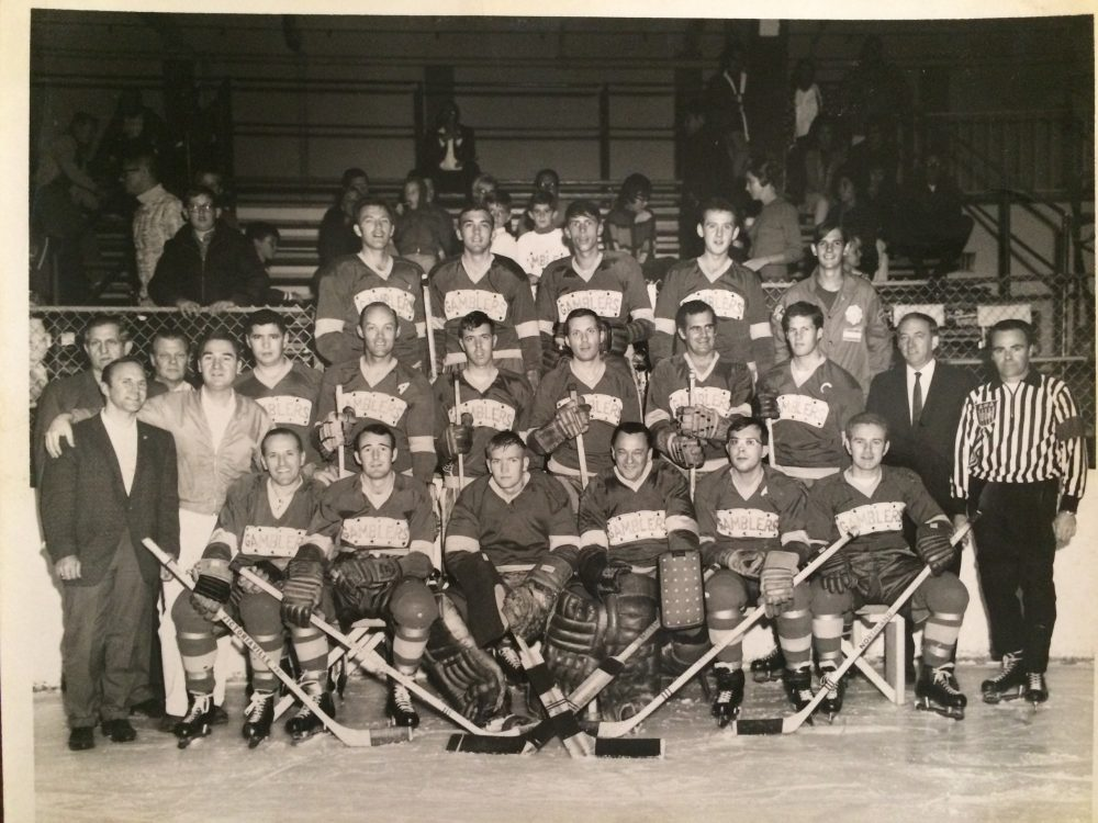 Pro hockey in Vegas didn't start with the Golden Knights. It started with the Las Vegas Gamblers in the late 60s. (Courtesy Don Woodbury)