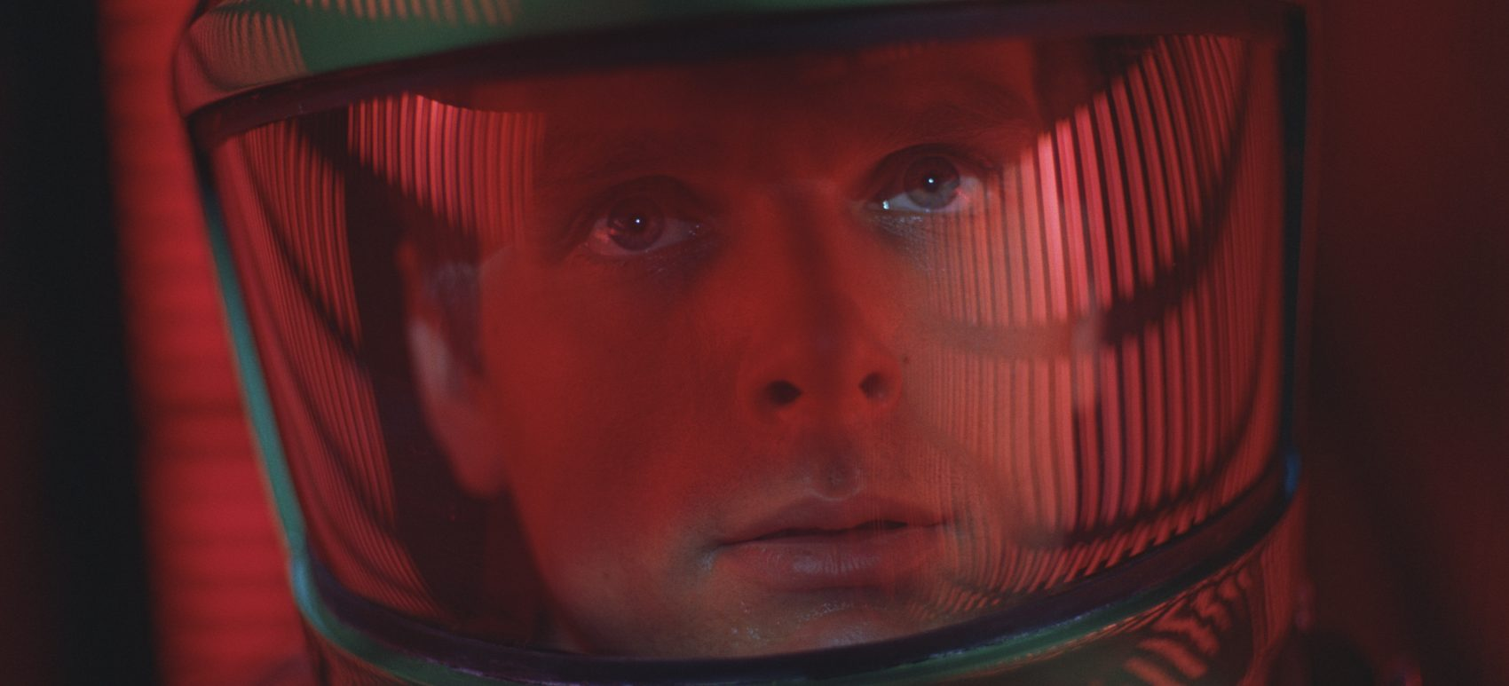 """Keir Dullea as astronaut Dave Bowman in """"2001: A Space Odyssey."""" (Courtesy of Warner Brothers)"""