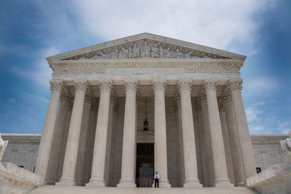 The US Supreme Court in Washington, DC. (Jim Watson/AFP/Getty Images)