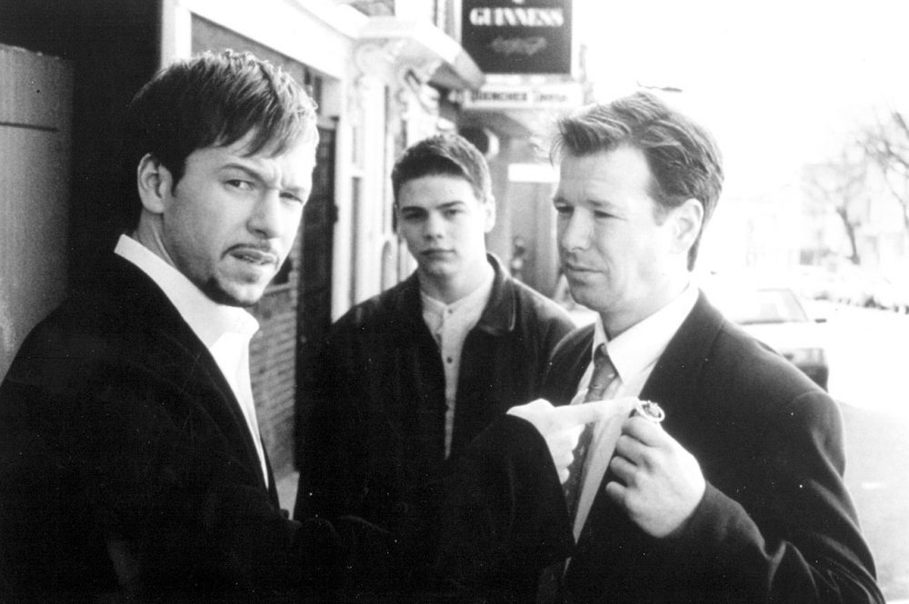 "A promotional handout from the film ""Southie"" (1998) showing Donnie, left, and Bob Wahlberg, right."