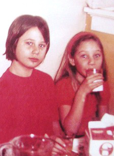 Darcie, left, and the author, pictured in 1967. (Courtesy)