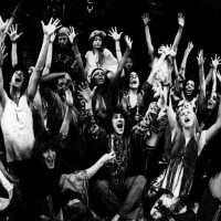 "The cast of ""Hair"". (Courtesy Playbill)"