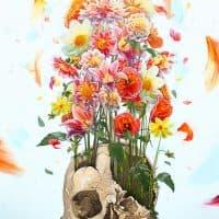 """""""Life after death,"""" digital illustration, 7000x10,000. (Courtesy u/iamrtb)"""