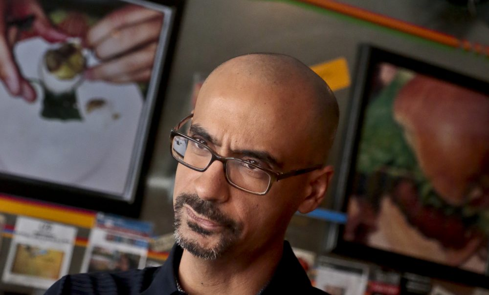 Junot Díaz has been accused by several writers of sexual misconduct or verbal abuse. Here is a fie photo of him in 2013. (Bebeto Matthews/AP)