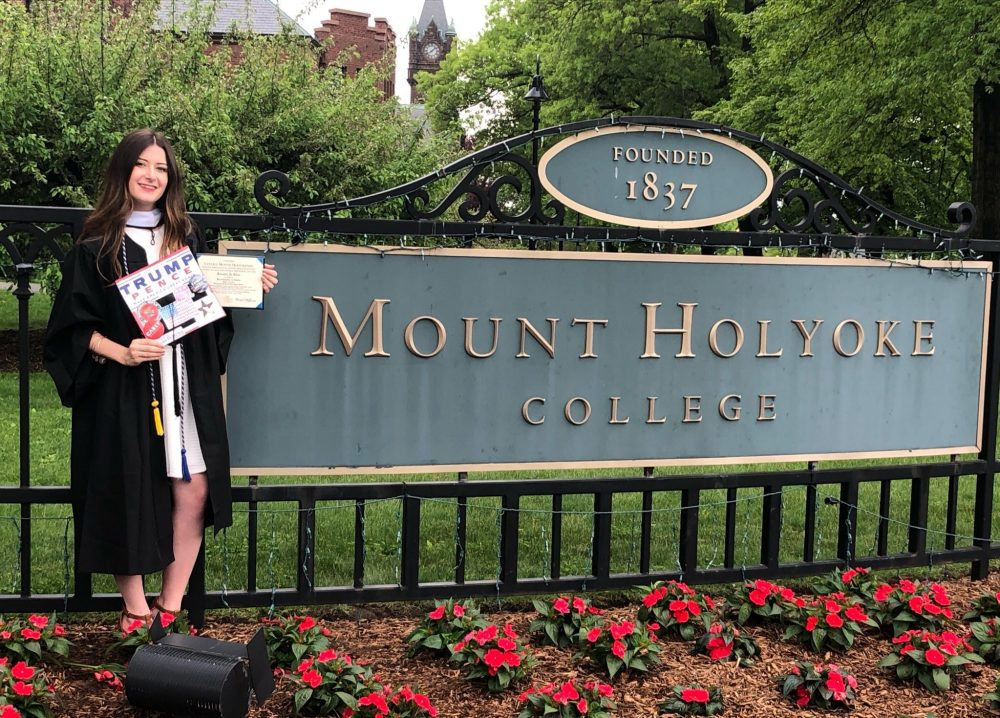 Kassy Dillon graduated from Mt. Holyoke College in South Hadley earlier this month. (Courtesy of Kassy Dillon)