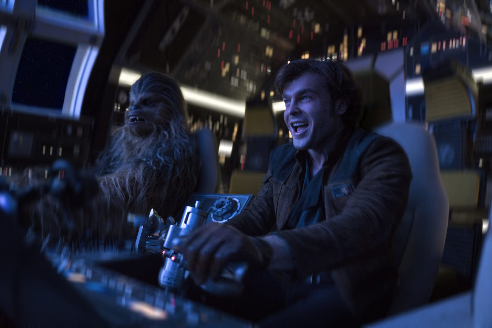 "A still from a scene in ""Solo: A Star Wars Story."" (Courtesy Lucasfilm)"