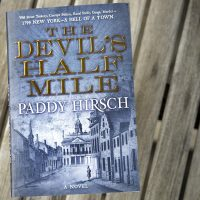 """The Devil's Half Mile,"" by Paddy Hirsch. (Robin Lubbock/WBUR)"