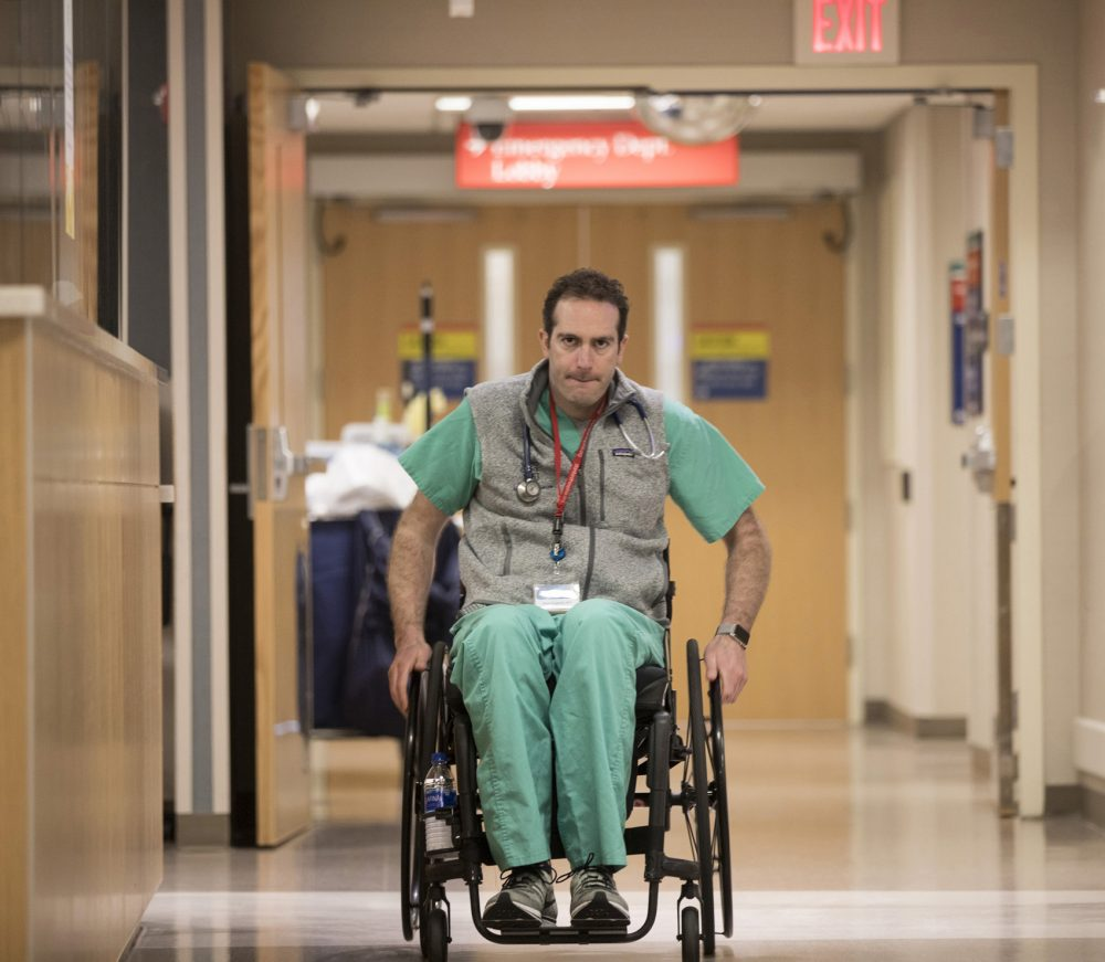 A Bike Accident Left This ER Doctor Paralyzed  Now He's Back At Work
