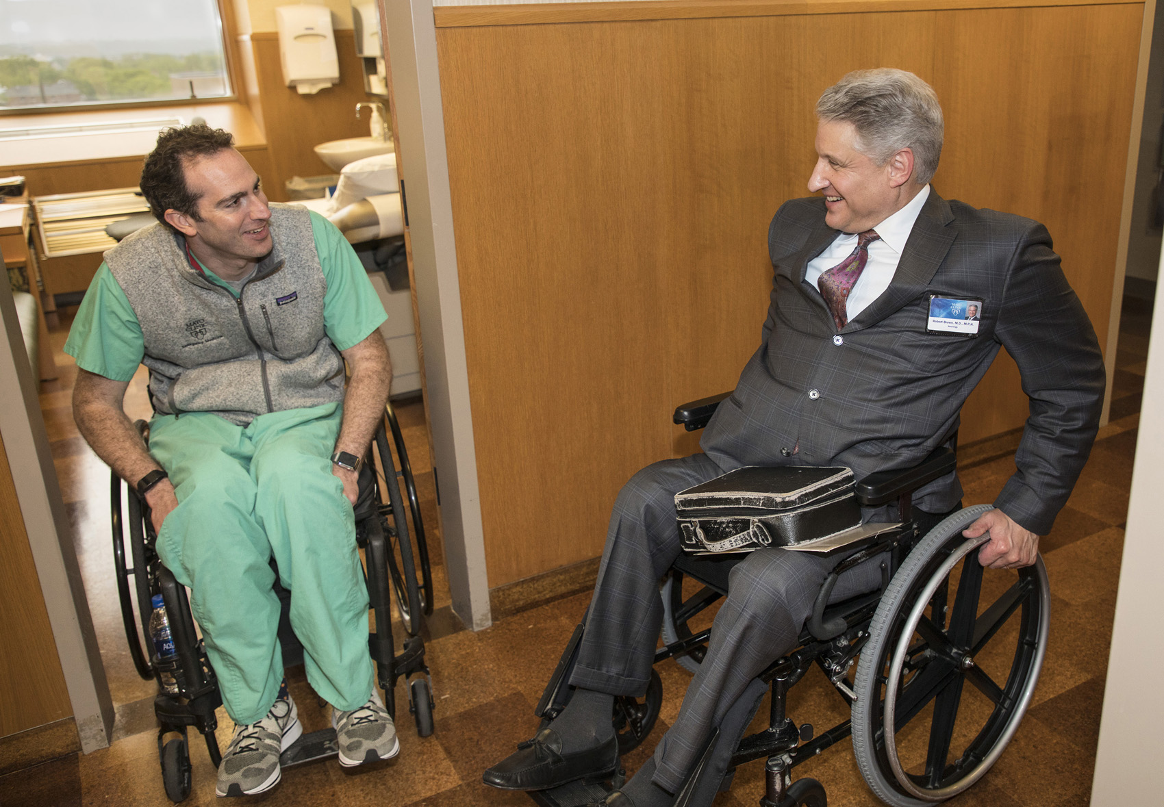A Bike Accident Left This ER Doctor Paralyzed  Now He's Back