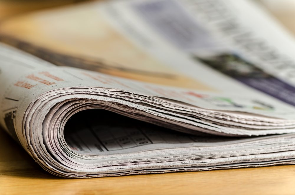 The small-town Redwood Falls Gazette in Redwood, Minnesota, removed the online version of an obituary that went viral. (Andrys/Pixabay)