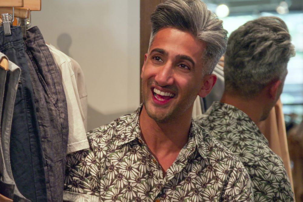"Tan France in a still from season two of Netflix's ""Queer Eye."" (Courtesy of Netflix)"