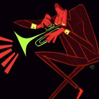 """""""Jazz."""" Digital, 2836x4290px By u/rk_art."""