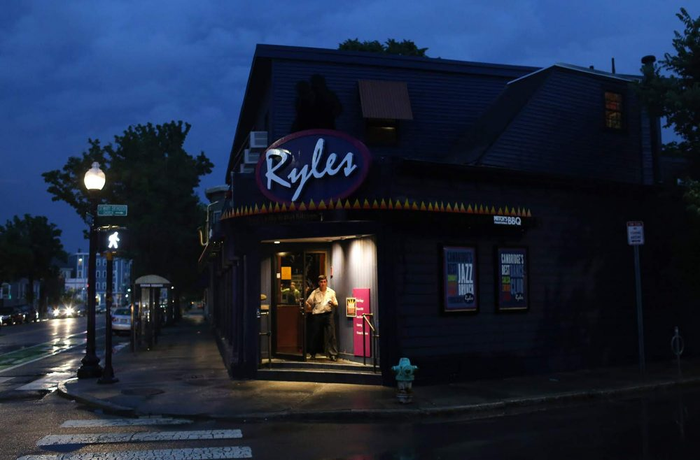 Ryles Jazz Club in Cambridge is closing at the end of June. (Hadley Green for WBUR)