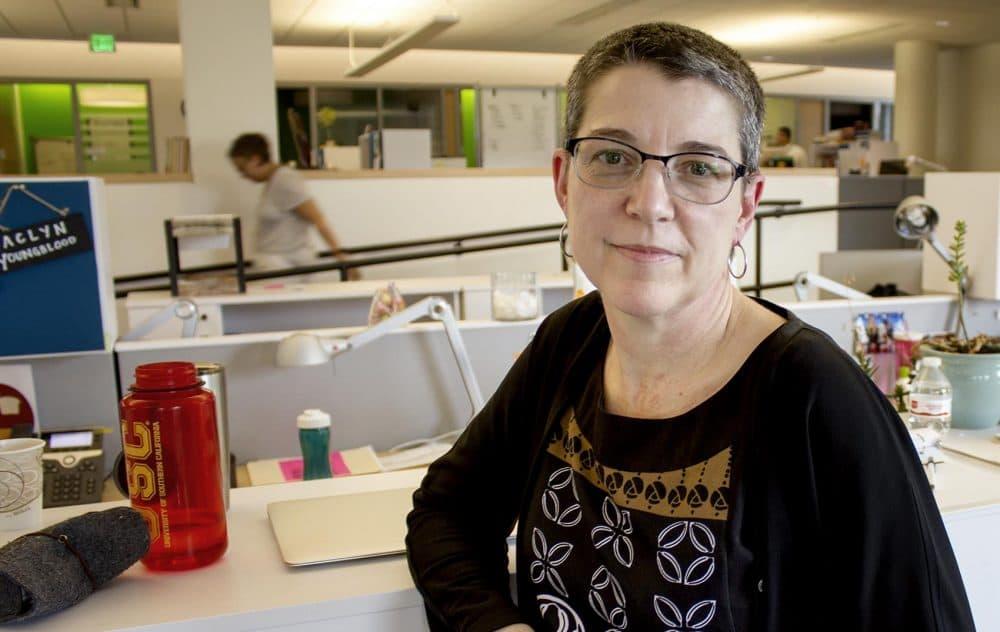 Laura Perille, the interim superintendent of Boston Public Schools (Paris Alston/WBUR)