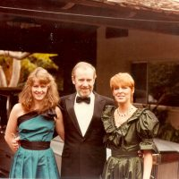 Though George Carlin's comedy seldom centered on sports, his daughter Kelly (left) has many fond memories of her father and sports. (Courtesy Kelly Carlin)