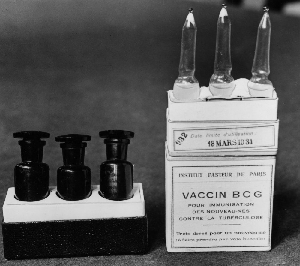 This March 1931 image taken in Paris shows the BCG vaccine. (Alfred Eisenstaedt/AP)