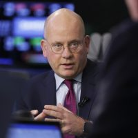 General Electric Chairman and CEO John Flannery. The company announced Monday, Oct. 1, that he would no longer serve his positions. (Richard Drew/AP)
