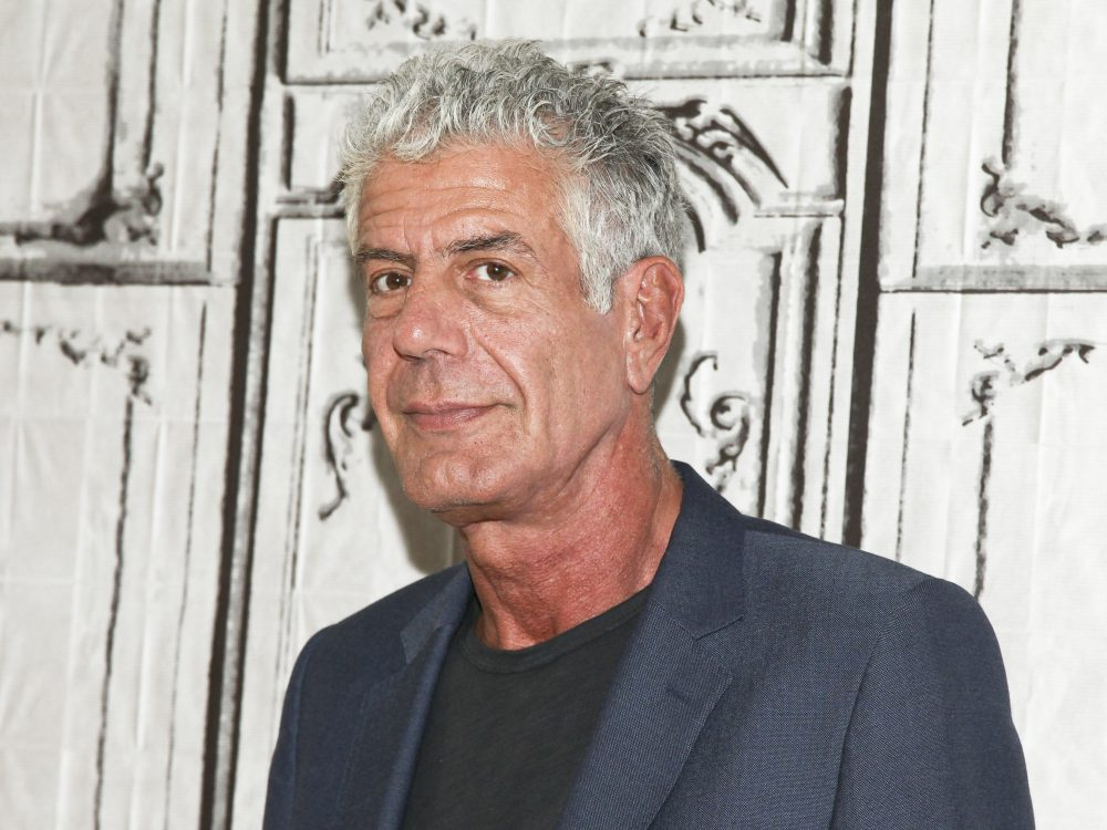 In this Nov. 2, 2016, file photo, Anthony Bourdain in pictured in New York. Bourdain has been found dead in his hotel room in France, Friday, June 8, 2018,  while working on his CNN series on culinary traditions around the world.  (Andy Kropa/Invision/AP)
