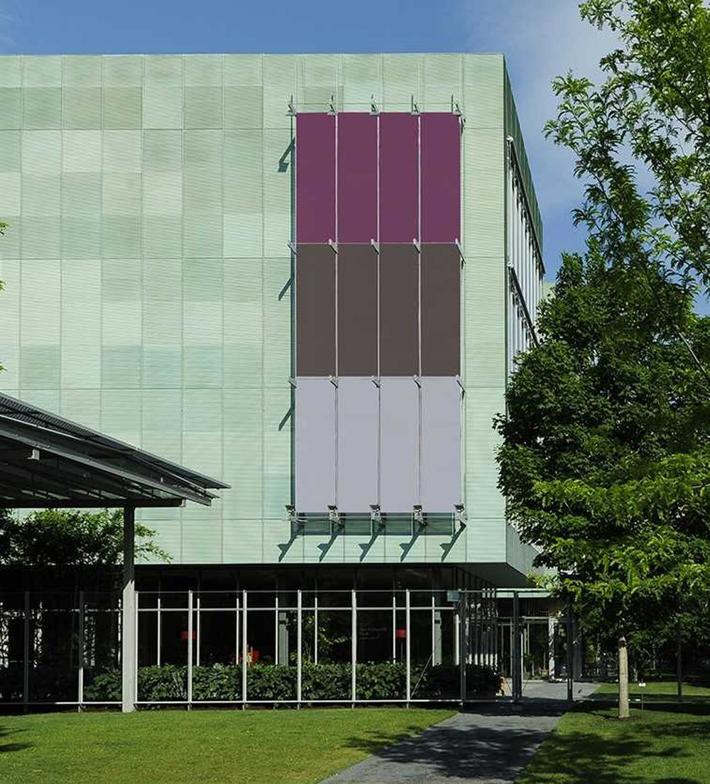 """A rendering of Steve Locke's """"Three Deliberate Grays for Freddie (A Memorial for Freddie Gray)"""" on the Isabella Stewart Gardner Museum. (Courtesy Isabella Stewart Gardner Museum)"""