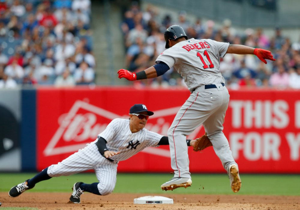 The Red Sox and Yankees enter this weekend's series boasting two of the three best records in Major League Baseball. (Jim McIsaac/Getty Images)