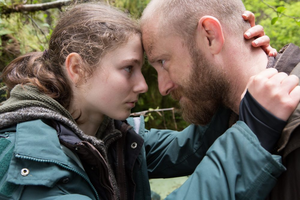 "Thomasin Harcourt  McKenzie and Ben Foster in ""Leave No Trace."" (Courtesy Scott Green/ Bleecker Street)"