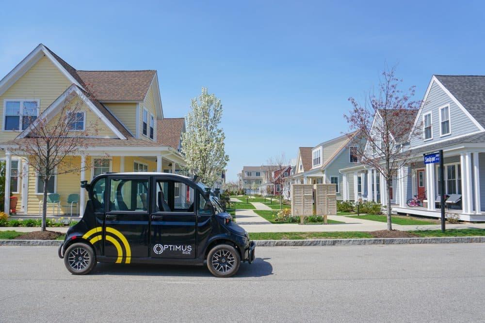 An Optimus Ride self-driving car (Courtesy)