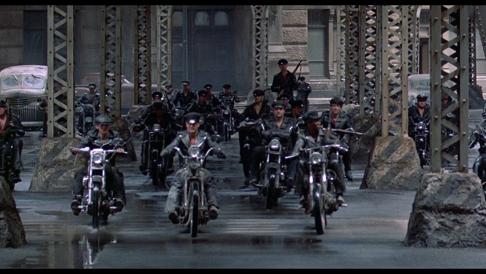 With Kisses In The Rain And Motorcycles Streets Of Fire