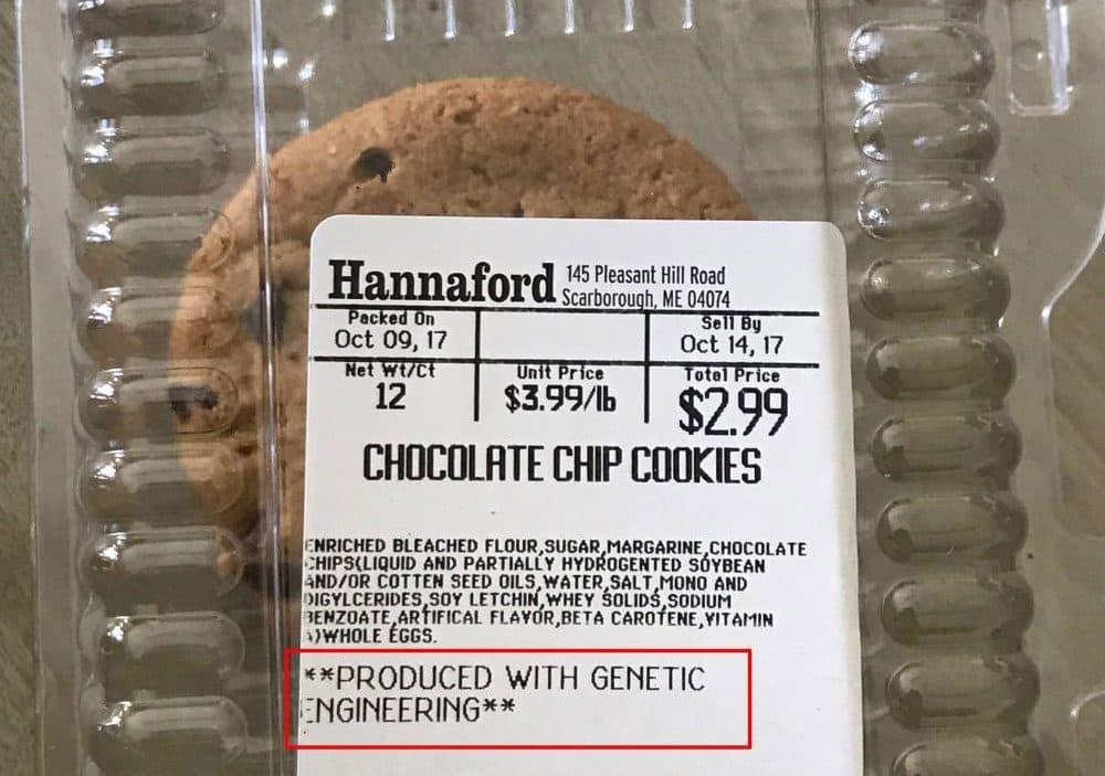 Note the label. (Courtesy Gretchen Calcagni)