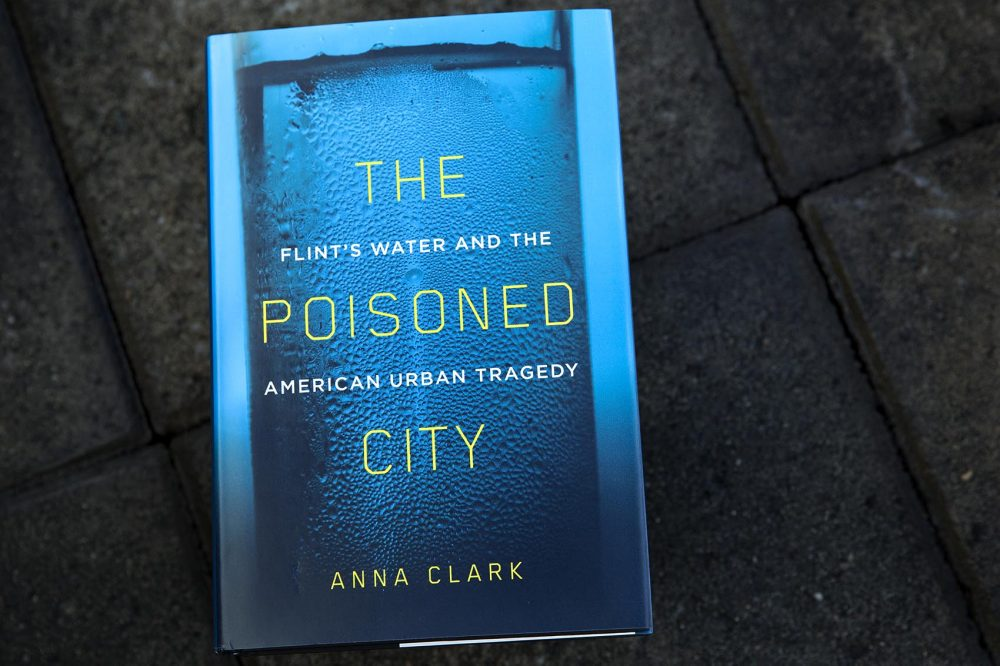 """The Poisoned City,"" by Anna Clark. (Robin Lubbock/WBUR)"