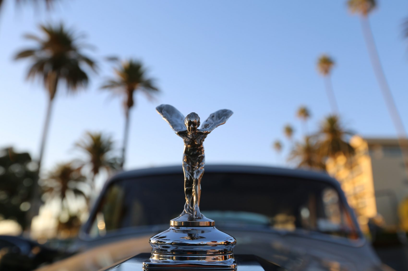 Elvis Presley's 1963 Rolls-Royce in Santa Monica, California. (Courtesy David Kuhn/Oscilloscope Laboratories)