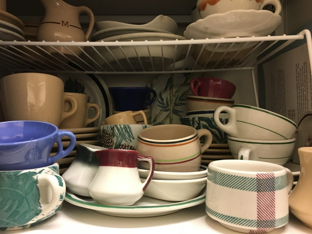 From 1930 to 1968, TEPCO, the Technical Porcelain and Chinaware Company, made dishes at its factory in El Cerrito, California. (Ariel Plotnick/KQED)