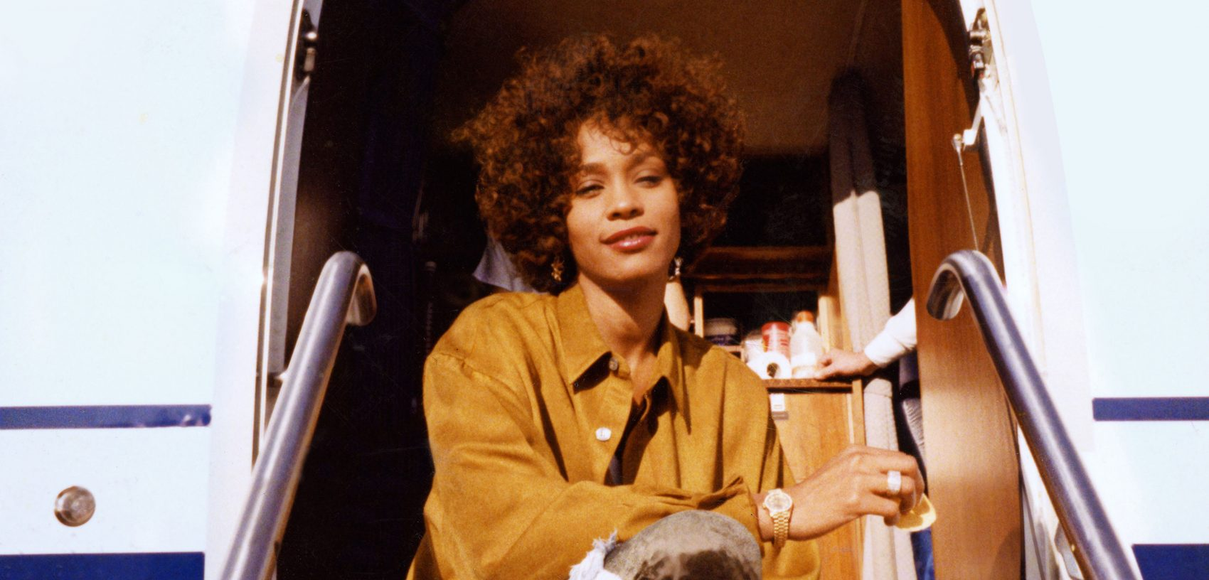 "A photo of Whitney Houston from the film ""Whitney,"" directed by Kevin Macdonald. (Courtesy of The Estate of Whitney E. Houston)"