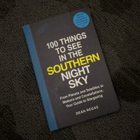 """100 Things to See in the Southern Night Sky,"" by Dean Regas. (Jesse Costa/WBUR)"