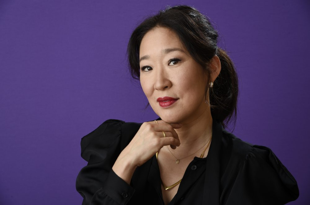 """Sandra Oh, a cast member in the BBC America series """"Killing Eve,"""" poses for a portrait during the 2018 Television Critics Association Winter Press Tour at the Langham Hotel on Friday, Jan. 12, 2018, in Pasadena, Calif. (Chris Pizzello/Invision/AP)"""