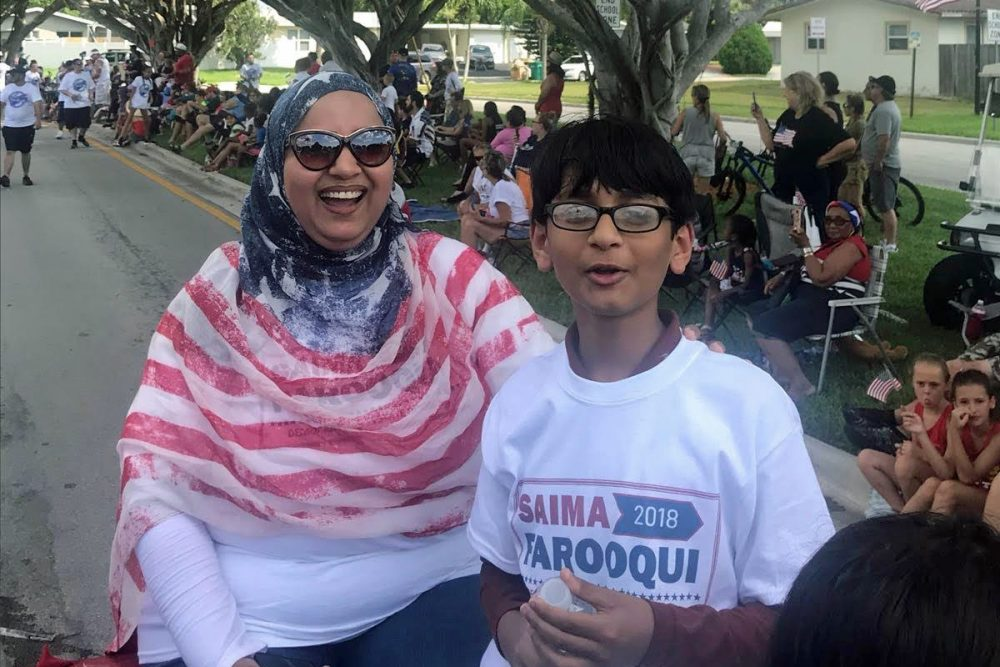 Saima Farooqui, if elected, would be the first Muslim to serve in Florida's state House of Representatives. (Courtesy Saima Farooqui)
