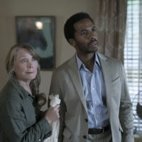 "Ruth Deaver (Sissy Spacek) and Henry Deaver (Andre Holland) in the first episode of ""Castle Rock."" (Courtesy Patrick Harbron/Hulu)"