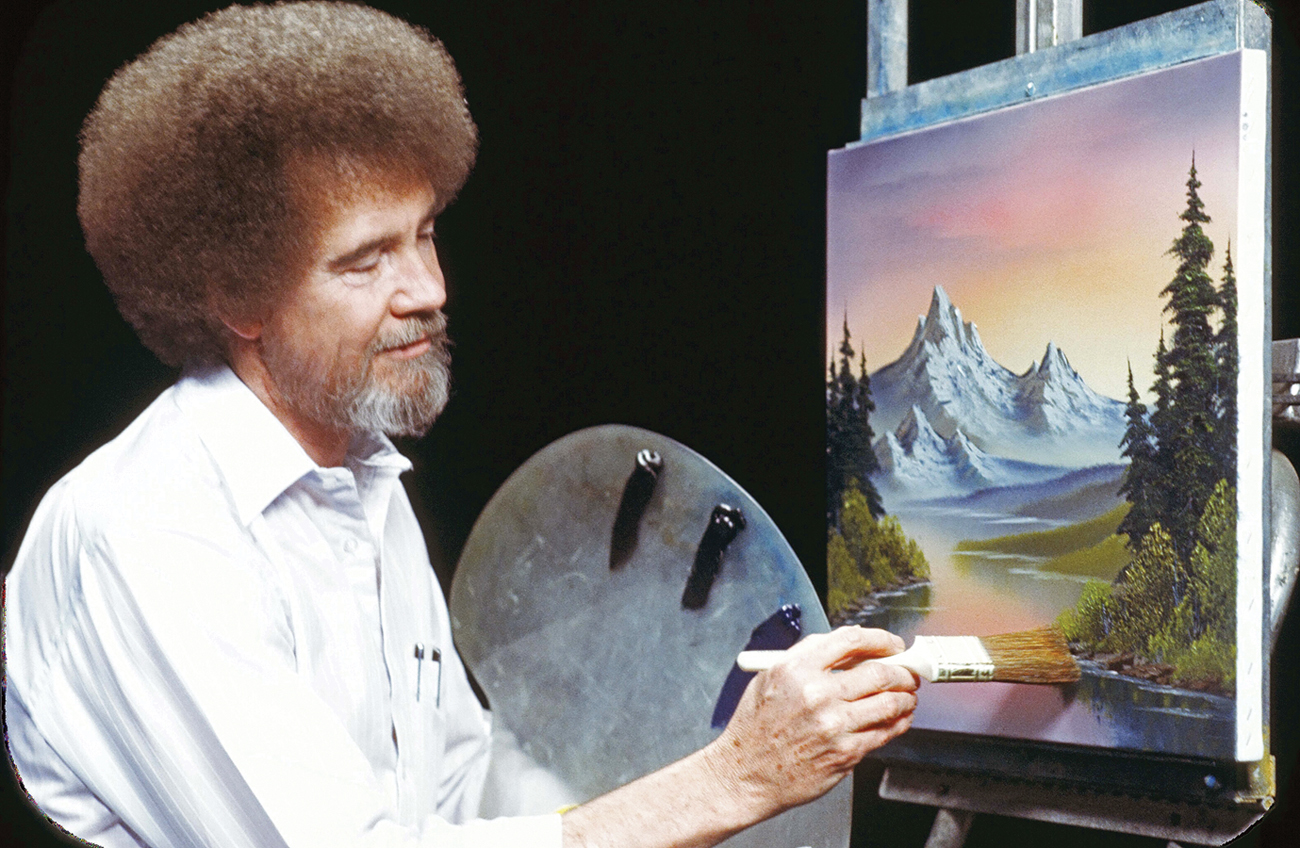 Bob Ross Is Making A Happy Little Comeback At Public ...