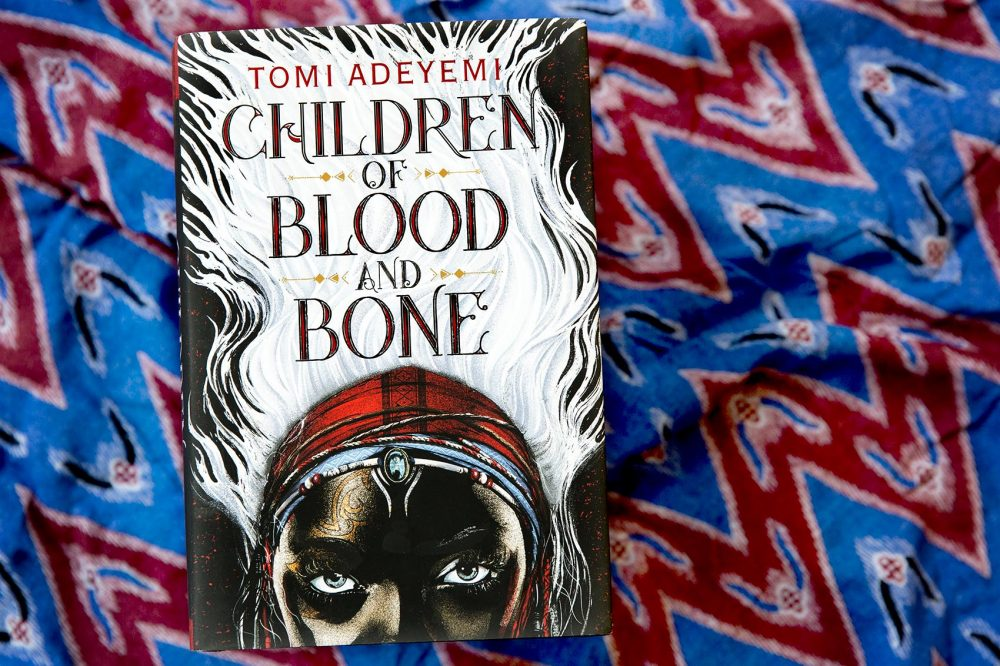 """Children of Blood and Bone,"" by Tomi Adeyemi. (Robin Lubbock/WBUR)"