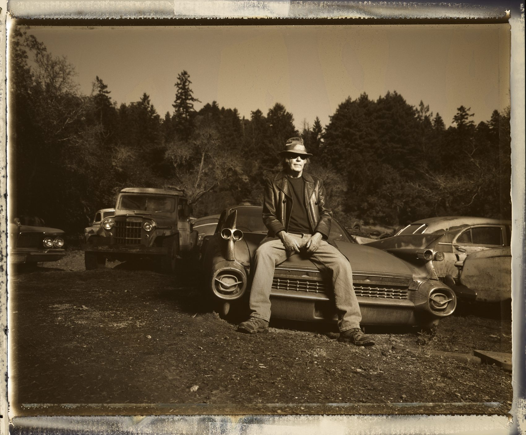 Musician Neil Young. (Courtesy Danny Clinch)