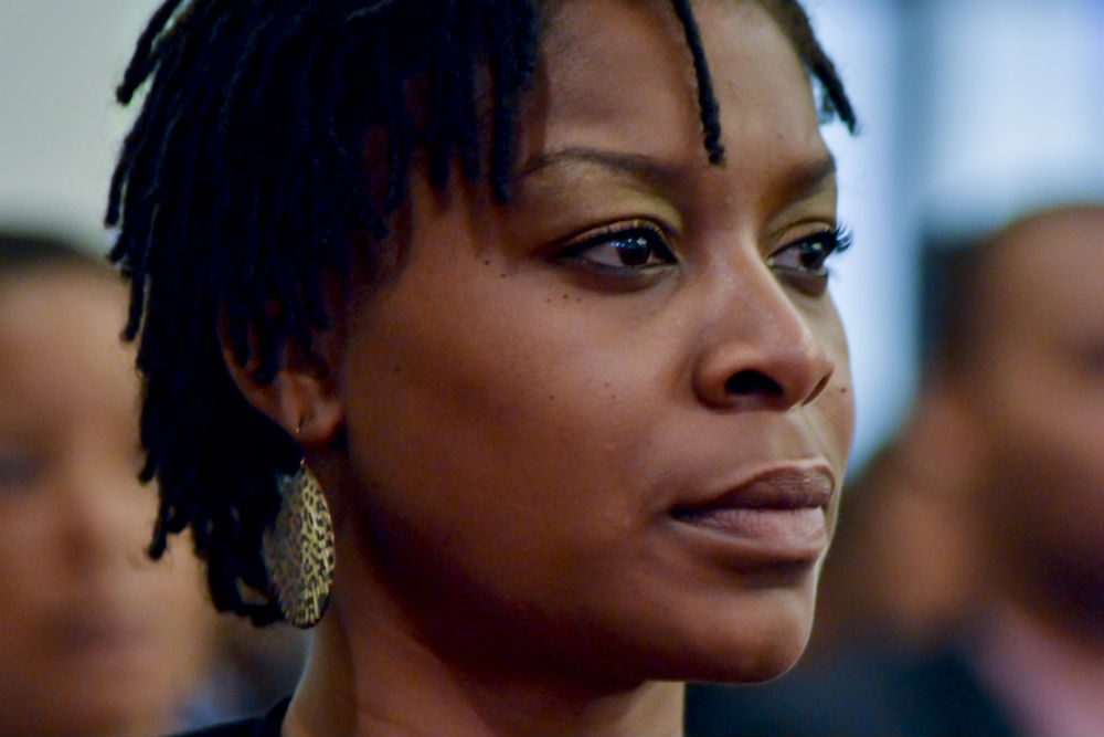 """A still from """"Say Her Name: The Life and Times Of Sandra Bland."""" (Courtesy Woods Hole Film Festival)"""