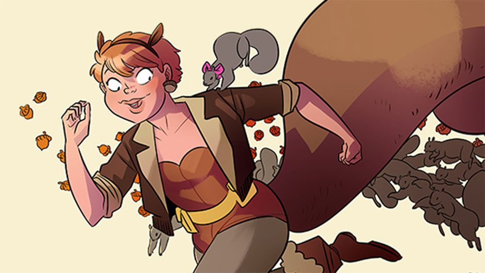 "Squirrel Girl from Marvel Comic's ""The Unbeatable Squirrel Girl"" (Courtesy Marvel Comics)"