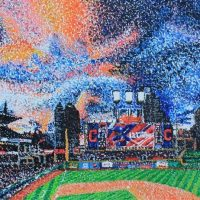 """Baseball Nights,"" oil on panel, 2' x 4' by u/geyserpj"