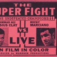 "In 1970, moviegoers could watch Muhammad Ali and Rocky Marciano square off in the ring...""live"". Sort of (ToonIsALoon/Wikimedia Commons)"