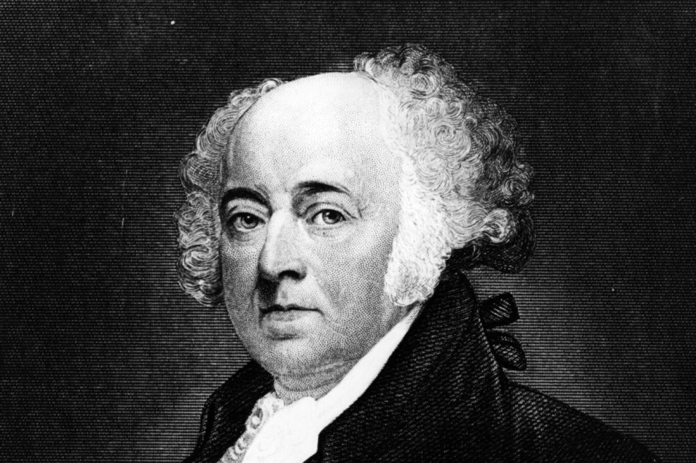 John Adams, the second president of the U.S., elected in 1796. He was involved in the secret XYZ Affair in 1797. (Hulton Archive/Getty Images)