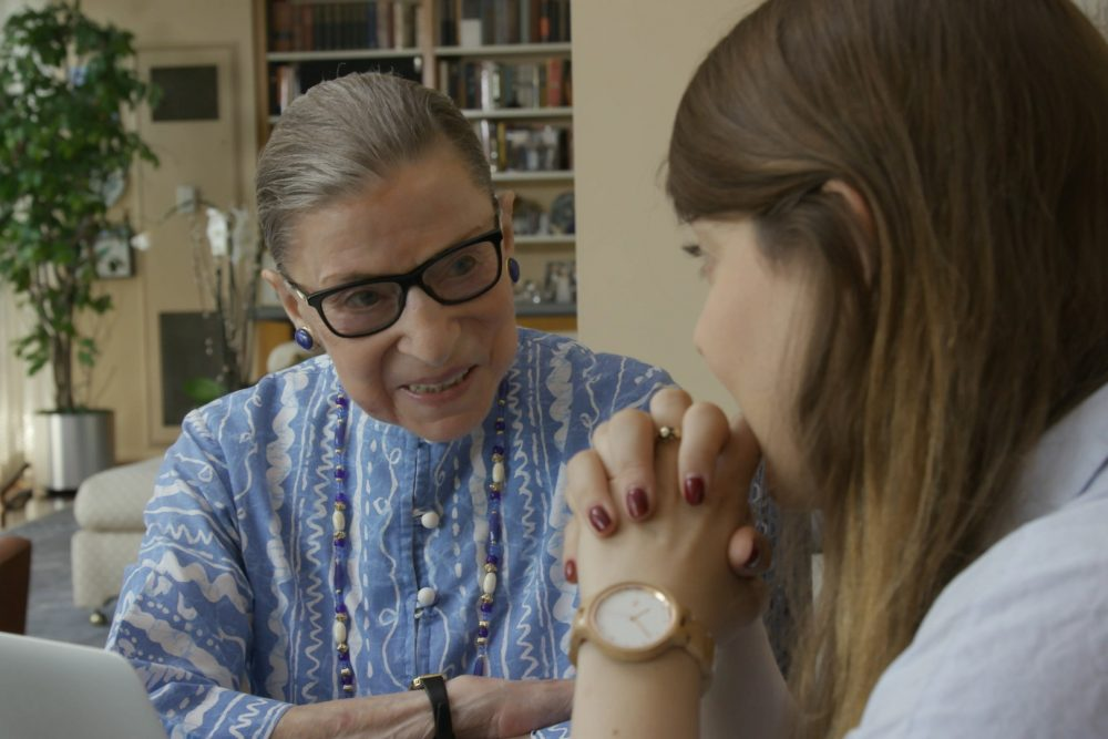 "A scene from ""RBG,"" a Magnolia Pictures release. (Courtesy of Magnolia Pictures)"