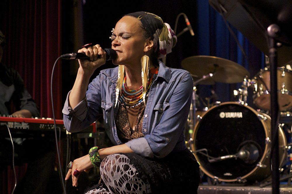 Ursula Rucker, a Philadelphia spoken-word artist. (Courtesy Sven Frenzel)