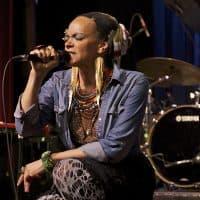 Ursula Rucker, a Philadelphia spoken-word artist. (Courtesy Sven Frenzel)